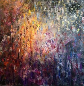 """Arising"" painting"